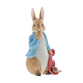 Peter Rabbit e a estatueta de pocket handkerchief limited edition