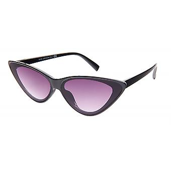 Sunglasses Women's Black/Smoke Butterfly