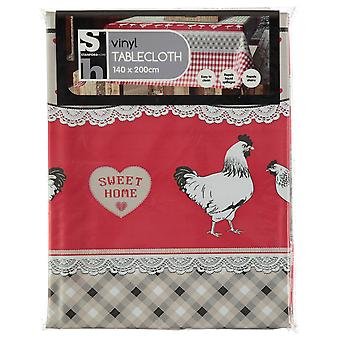 Stanford Home Unisex Vinyl Tablecloth