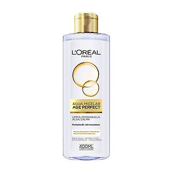 Edad del agua micelar Perfecto L'Maquillaje Oreal (400 ml)