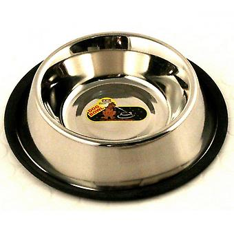 Classic Non Tip Stainless Steel Dog Bowl