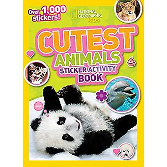 Cutest Animals Sticker Activity Book - Over 1 -000 stickers! by Nation