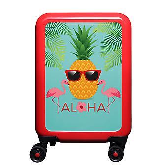 myTrolley Aloha S, 4 wheels, 55 cm, 32 L, red