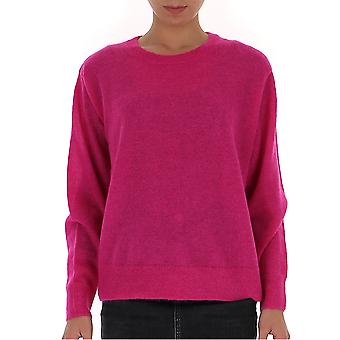 Dries Van Noten 112648715304 Dames's Fuchsia Wollen Trui