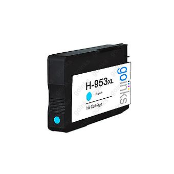 1 Go Inks Cyan Compatible Printer Ink Cartridge to replace HP 953C (XL Capacity) Compatible / non-OEM for HP Officejet Printers 1 Go Inks Cyan Compatible Printer Ink Cartridge to replace HP 953C (XL Capacity) Compatible / non-OEM for HP Officejet Printers 1 Go