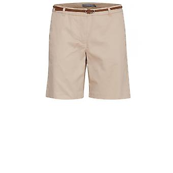 b.young Light Tan Chino Shorts