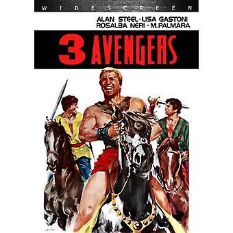 3 avengers [DVD] USA importeren