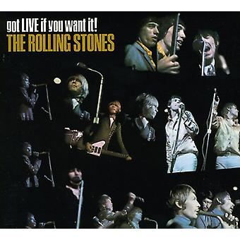 Rolling Stones - Got Live If You Want It [CD] USA import