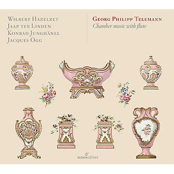 Telemann / Hazelzet / Linden - Telemann: Chamber Music with Flute [CD] USA import