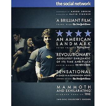 Sosiaalinen verkosto [2 levyä] [Blu-ray] [BLU-RAY] USA tuonti