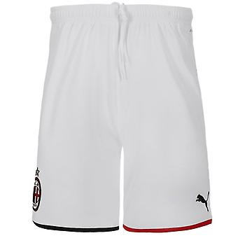 2019-2020 AC Milan Puma hem shorts (Kids)