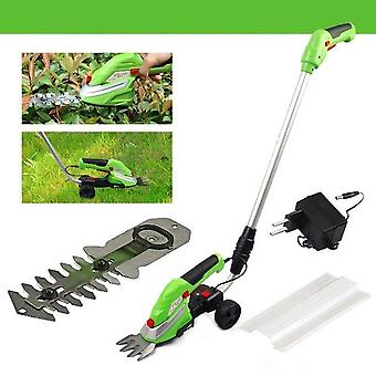 Lawn Mower Electric Trimmer, Cordless Grass Cutter Machine, String Extensible