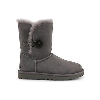 UGG - أحذية - أحذية الكاحل - BAILEY_BUTTON_II_1016226_GREY - السيدات - رمادي - EU 37