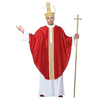 The Pope Priest Father Bishop Cardinal Religious Good Friday Easter Men Costume