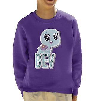 Littlest Pet Shop Bev Cut Out Lettering Kid's Sweatshirt