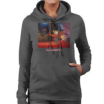 An American Tail Fievel Dancing Women's Hooded Sweatshirt