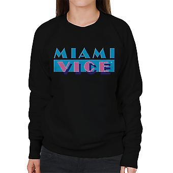 Miami Vice Classic logo vrouwen ' s Sweatshirt
