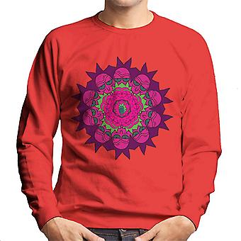 Rick and Morty Rick Kaleidoscope Men's Sweatshirt
