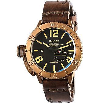 U-Boat 8486 Submerso 46 Bronze Wristwatch