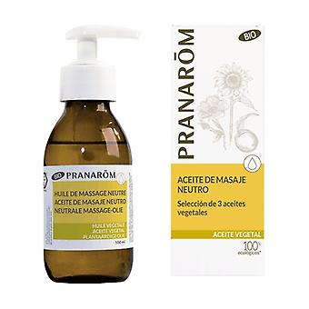 Neutral Massage Oil Selection of 3 Vegetal Oils 100 ml of oil