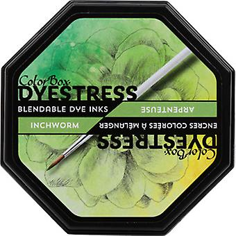 Clearsnap Colorbox Dyestress Blendable Dye Ink Full Size Inchworm