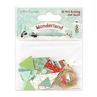Trimcraft Helz Wonderland Mini Bunting & Twine