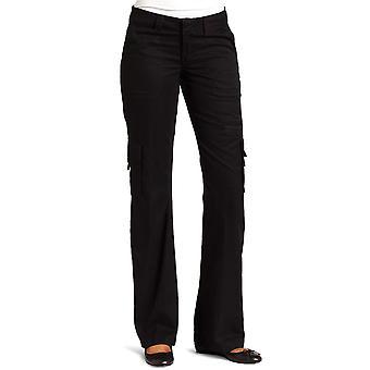 Dickies Women's  Relaxed Cargo Pant Rinsed Black 12/Regular