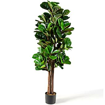 Artificial Palm Tree Realistic Fake Tropical Plant In/Outdoor Decoration 150CM