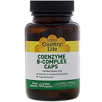 Vita di campagna, Coenzyme B-Complex Caps, 60 Capsule Vegane