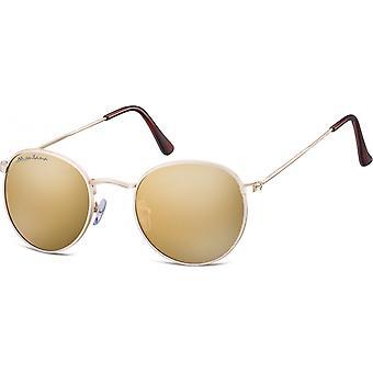 نظارات شمسية Unisex Cat.3 الذهب (MS92B)