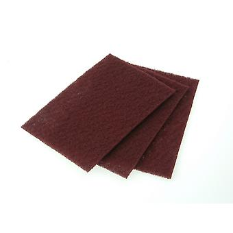 Faithfull Hand Pad Maroon Erittäin hieno 230 x 150mm (10) FAIAHPMAROON