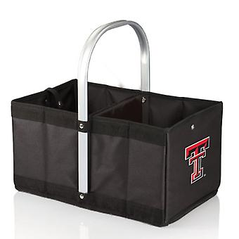 Urban Basket - Black (Texas Tech Red Raiders) Digital Print