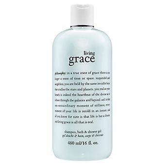 Philosophy Living Grace Shower Gel 16 oz / 480ml
