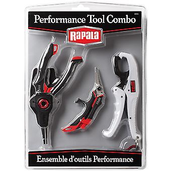 Rapala Performance Tool Combo Pack (Tang, Schaar, Gripper)