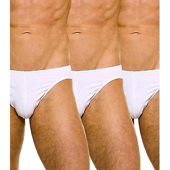 Wonderbrief Packung mit 3 weißen Stretch-Baumwolle