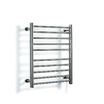 Rotaia riscaldata, portaasciugamani elettrici in acciaio inossidabile- Riscaldatore più caldo