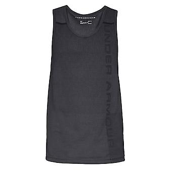 Under Armour Vanish Seamless Mens Fitness Exercise Tank Top Vest Grey