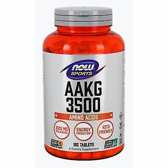 Now Foods AAKG, 3500 NEU, 180 Tabs