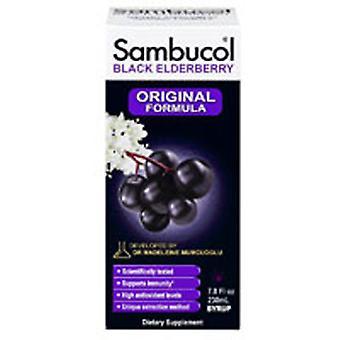 Sambucol Black Elderberry Immune System Support, Syrup 7.8 Oz