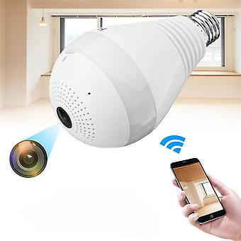 960P HD WIFI Camera Panoramic 360 View Smart Light Bulb Camera Monitoring