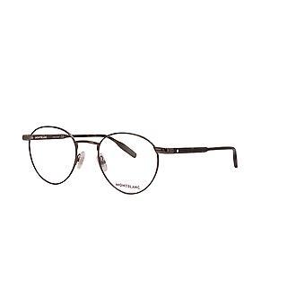 Montblanc MB0115O 002 Gunmetal-Havana Glasses