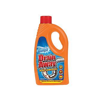 Duzzit Drain Away Liquid 500ml DZT1035-12