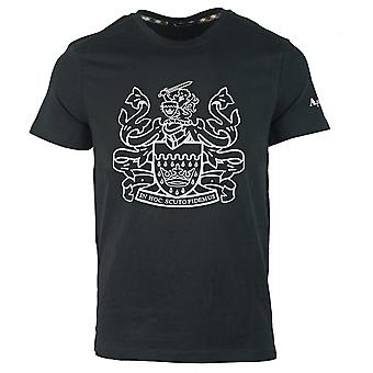 Aquascutum Aldis Logo T-Shirt noir