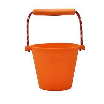1.5l Beach Bucket Silicone , Baril pliant tenu à la main, Bain douche
