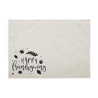 Happy Friendsgiving Canvas Place Mat