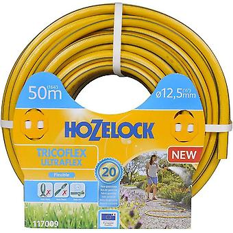 "Hozelock Tricoflex Ultraflex Hose, 12.5 mm (1/2"") Diameter x 50 Meters in Length"