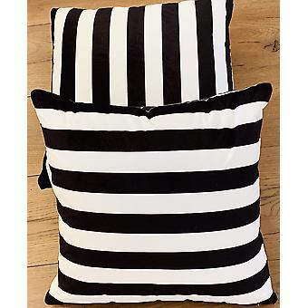 Stripe Cushion Covers Velvet