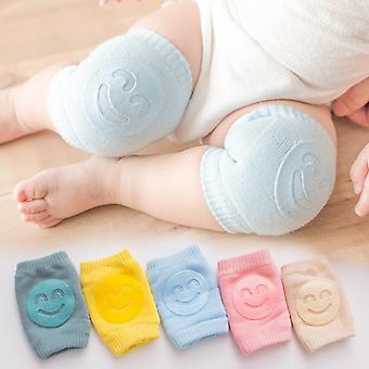3 Pairs Smile Knee Pads Kids Non Slip Crawling Infants Toddlers Baby Accessories Protector Safety Kneepad Leg Warmer Girls Boys