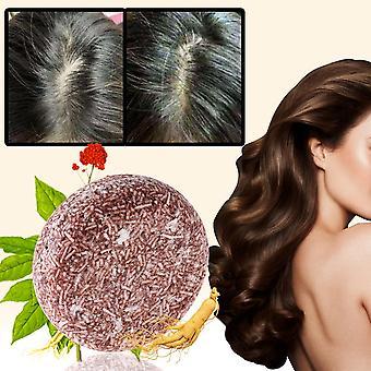 Natural Organic Hair Darkening & Cleansing Shampoo