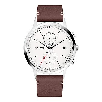 s.Oliver SO-4123-LC Men's Watch Chronograph